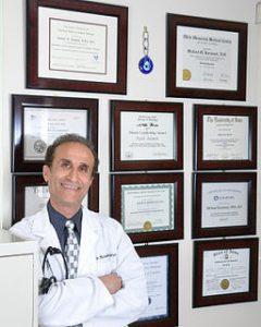 Dr. Keramati in office